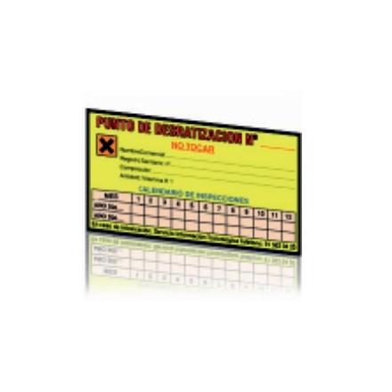 Etiquetas calendario de inspección