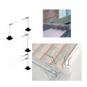 Sistemas de postes y cables